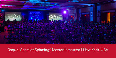 Raquel Schmidt, Spinning® Master Instructor | New York, USA