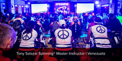 Tony Salazar, Spinning® Master Instructor and Power Specialist Master Instructor | Venezuela