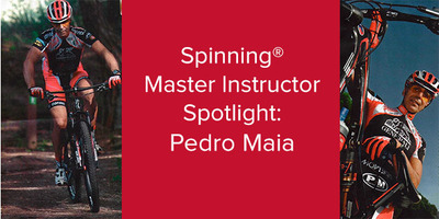Pedro Maia, Spinning® Master Instructor and World 24H Solo Champion | Scotland