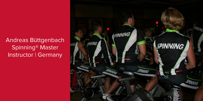 Andreas Büttgenbach, Spinning® Master Instructor | Germany
