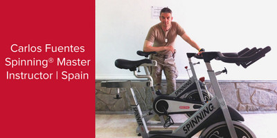 Carlos Fuentes, Spinning® Master Instructor and Power Specialist Master Instructor | Spain