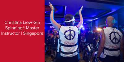 Christina Liew-Gin, Spinning® Master Instructor | Singapore