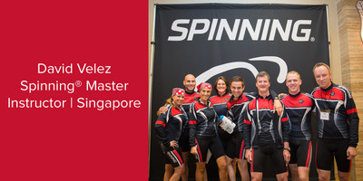 David Velez, Spinning® Master Instructor | Singapore