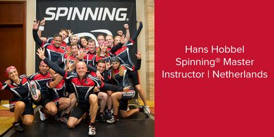 Hans Hobbel, Spinning® Master Instructor | Netherlands