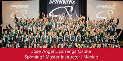 Jose Angel Lizarranga Osuna, Spinning® Master Instructor | Mexico