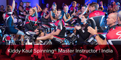 Kiddy Kaul, Spinning® Master Instructor | India