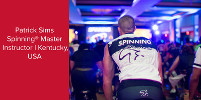 Patrick Sims, Spinning® Master Instructor | Kentucky, USA