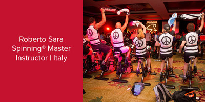Roberto Sara, Spinning® Master Instructor and Power Specialist Master Instructor | Italy