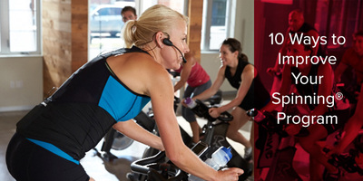 10 Ways to Improve Your Spinning® Program