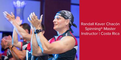 Randall Kaver Chacón, Spinning® Master Instructor | Costa Rica