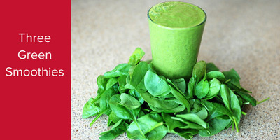3 Green Smoothies for Spring