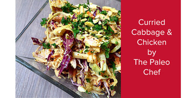 Paleo Curried Chicken and Cabbage | The Paleo Chef