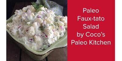Paleo Faux-Tato Salad | Coco's Paleo Kitchen