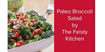 Paleo Broccoli Salad | The Feisty Kitchen