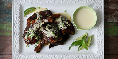 Paleo Roasted Chicken & Alabama White BBQ Sauce | Free Range Katy