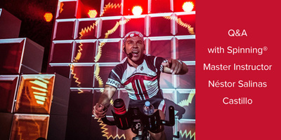 Q&A with Spinning® Master Instructor Néstor Salinas Castillo | Chile