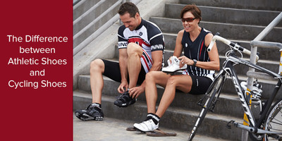 The Difference between Athletic Shoes and Cycling Shoes