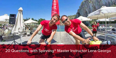 20 Questions with Spinning® Master Instructor Lena Georga | Greece