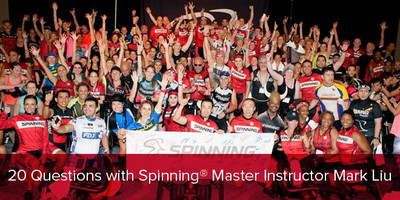 20 Questions with Spinning® Master Instructor Mark Liu   Canada