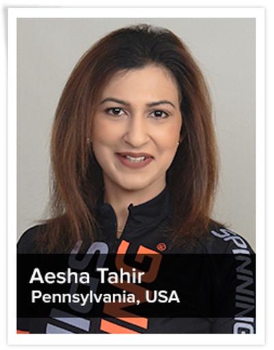 Aesha Tahir, Spinning® Master Instructor | Pennsylvania, USA