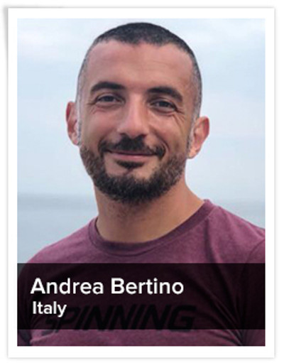 Andrea Bertino, Spinning® Master Instructor | Italy