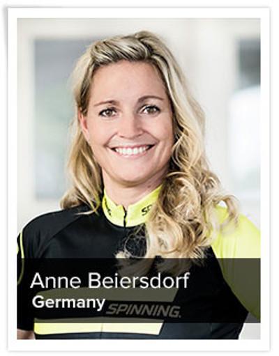 Anne Beiersdorf, Spinning® Master Instructor | Germany