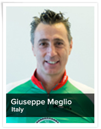 Giuseppe Meglio, Spinning® Master Instructor and Power Specialist Master Instructor | Italy