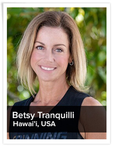 Betsy Tranquilli, Spinning® Master Instructor | Hawai'i, USA