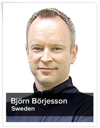 Björn Börjesson, Spinning® Master Instructor | Sweden