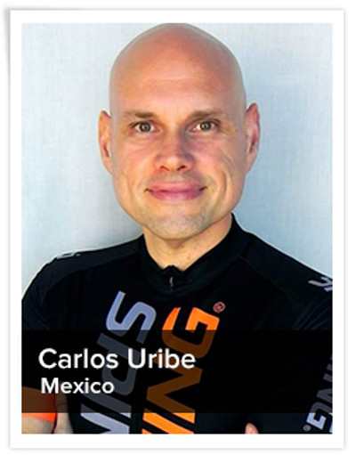 Carlos Uribe, Spinning® Master Instructor and Power Specialist Master Instructor | Mexico