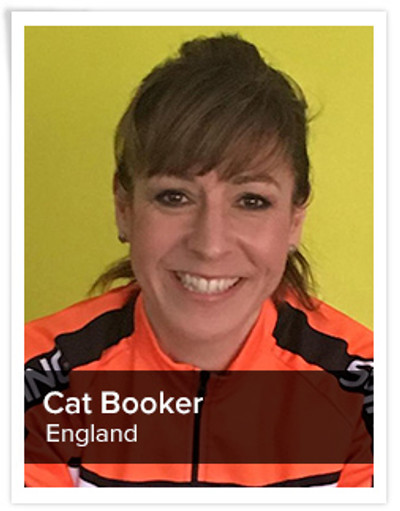 Cat Booker, Spinning® Master Instructor | England