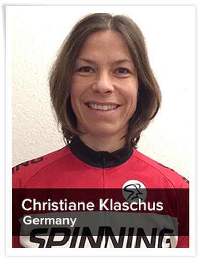 Christiane Klaschus, Spinning® Master Instructor | Germany