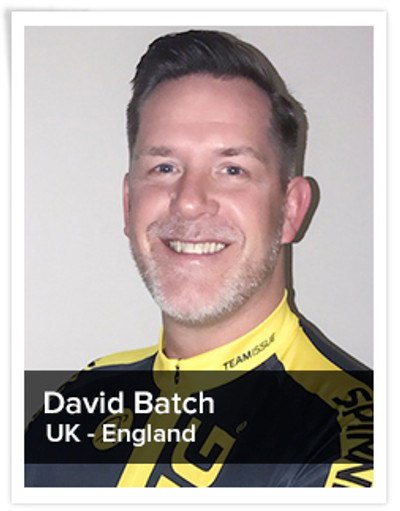 David Batch, Spinning® Master Instructor | UK - England