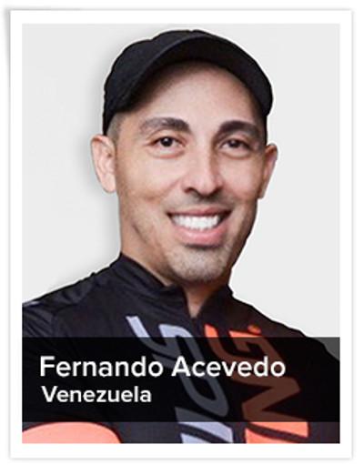 Fernando Acevedo, Spinning® Master Instructor | Venezuela