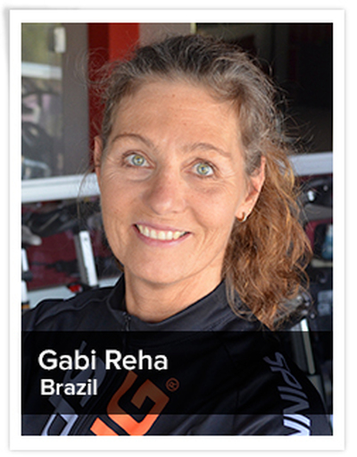 Gabi Reha, Spinning® Master Instructor | Brazil