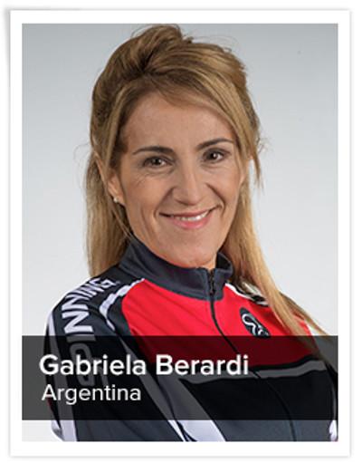 Gabriela Berardi, Spinning® Master Instructor | Argentina