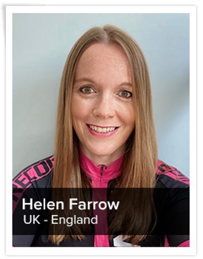 Helen Farrow, Spinning® Master Instructor | England