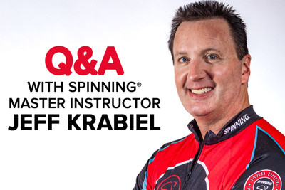 Spinning® Master Instructor Jeff Krabiel Hits 25-Year Mark!
