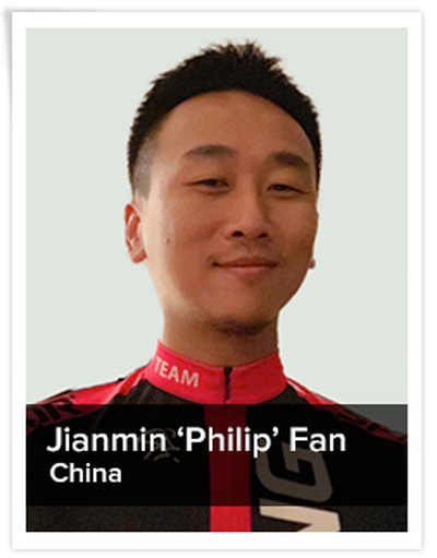 Jianmin 'Philip' Fan, Spinning® Master Instructor | China