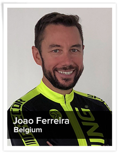 Joao Ferreira, Spinning® Master Instructor and Power Specialist Master Instructor | Belgium
