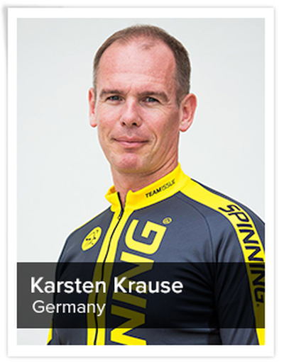 Karsten Krause, Spinning® Master Instructor | Germany