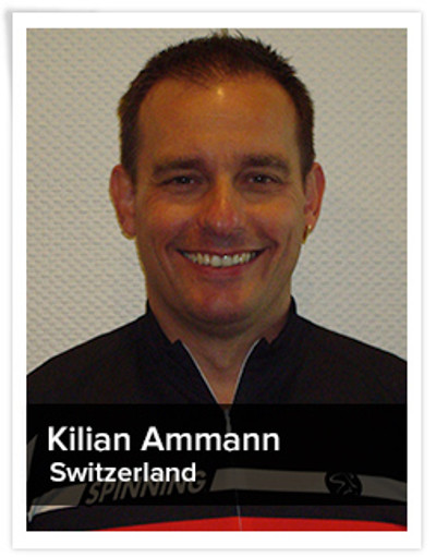 Kilian Ammann, Spinning® Master Instructor | Switzerland