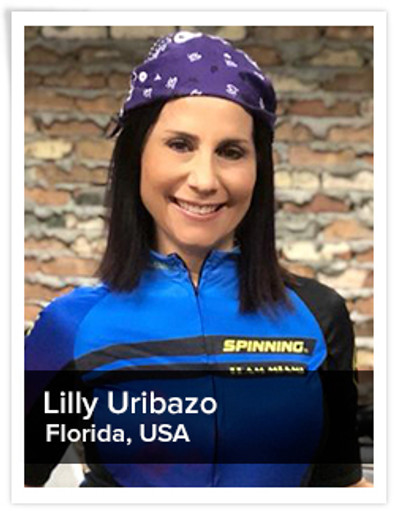 Lilly Uribazo,  Spinning® Master Instructor | Florida, USA