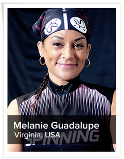 Melanie Guadalupe, Spinning® Master Instructor | Virginia, USA