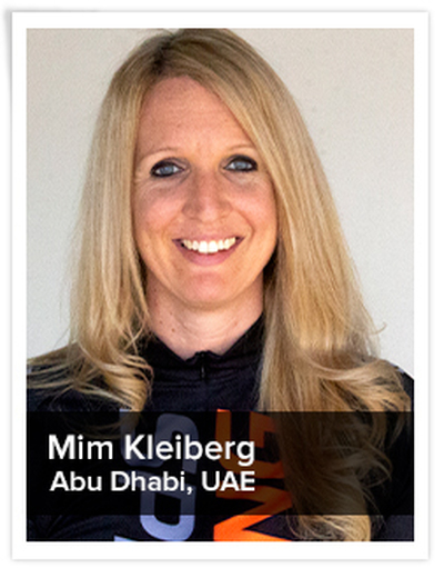 Mim Kleiberg, Spinning® Master Instructor | Abu Dhabi, UAE