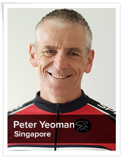 Peter Yeoman, Spinning® Master Instructor | Singapore