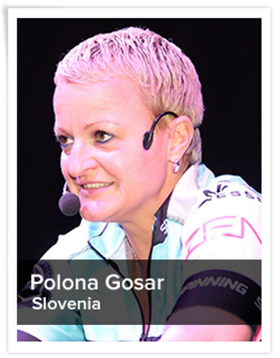 Polona Gosar,  Spinning® Master Instructor and Power Specialist Master Instructor | Slovenia