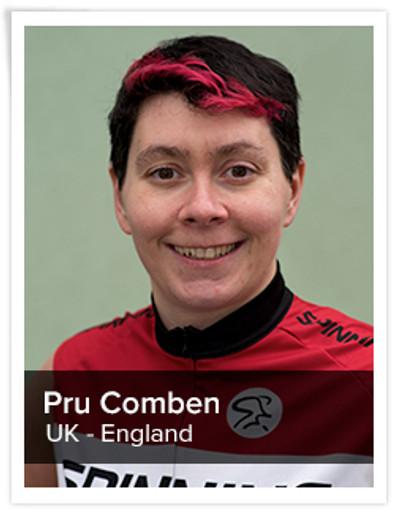 Pru Comben, Spinning® Master Instructor | England