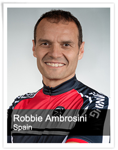 Robbie Ambrosini, Spinning® Master Instructor and Power Specialist Master Instructor | Spain