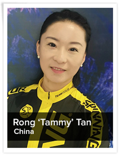 Rong 'Tammy' Tan, Spinning® Master Instructor | China